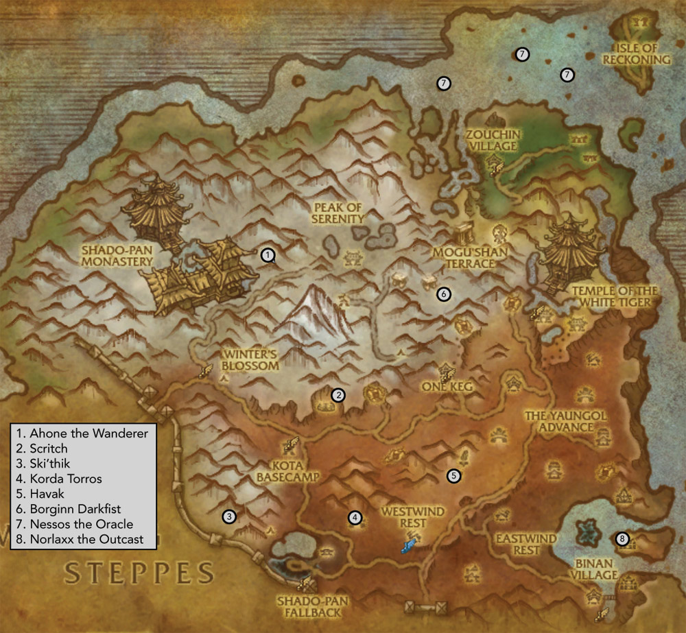 Why? Because it's rare! Treasures of good fortune and more ... |Townlong Steppes Map
