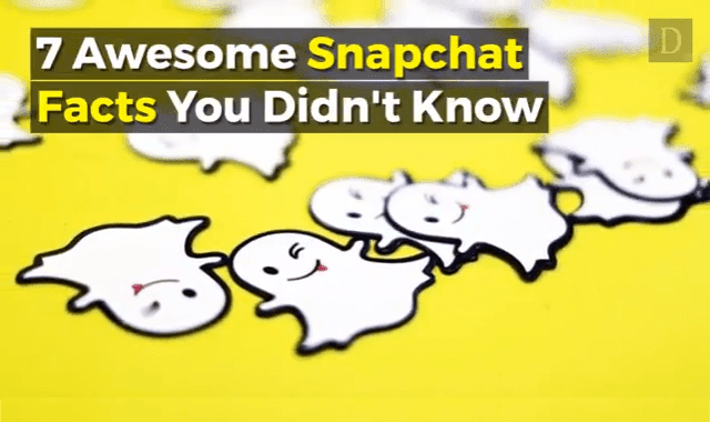 7 Awesome Snapchat Facts You Didn't Know