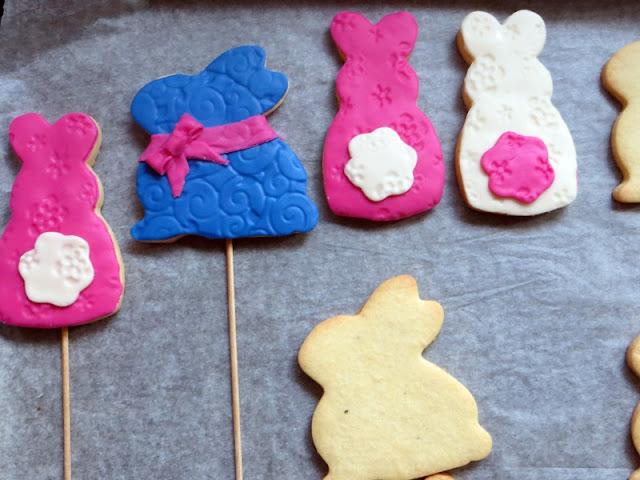 Cookies mit Fondant verziert