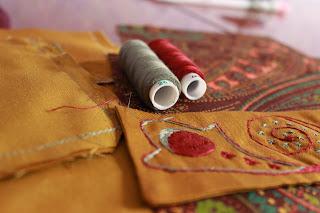 виртуальное путешествие, настроение своими руками, Яна SunRay, нитки, шитье