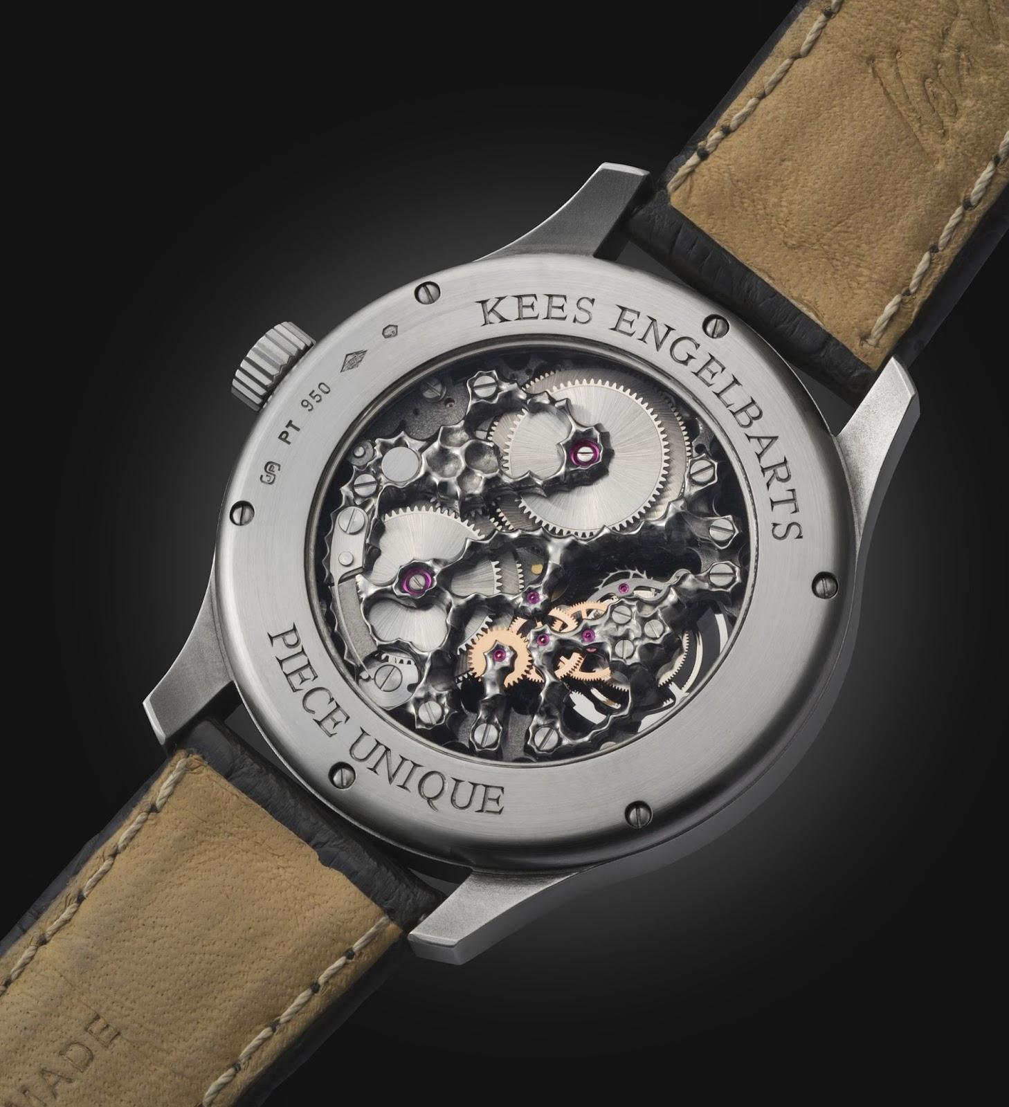 Kees Engelbarts - Organic Tourbillon in Platinum, Piece Unique