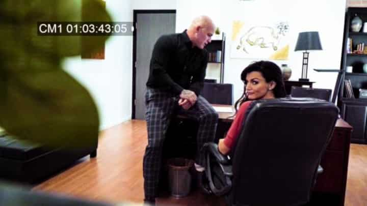 Becky Bandini in Office Harassment Caught On Tape - Fantasy Massage