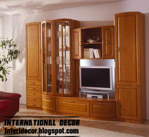 Modern TV wall units designs and TV shelving units ...
