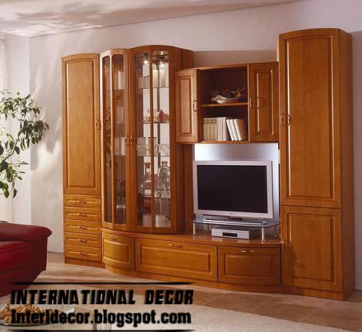 Modern TV wall units designs and TV shelving units ...