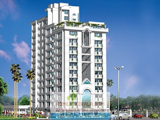 Flat For Rent In Skyline Aster At Petta Belair Panampilly Nagar