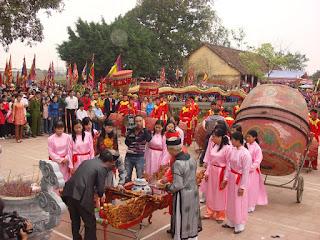 Enjoining Chu Dong Tu festival 2