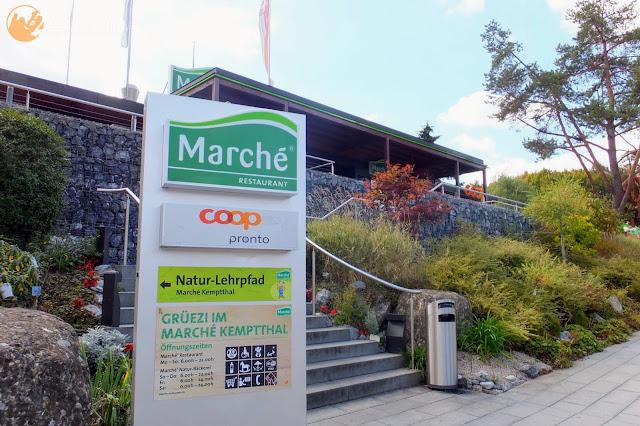 スイスのサービスエリア Servicearea in Switzerland