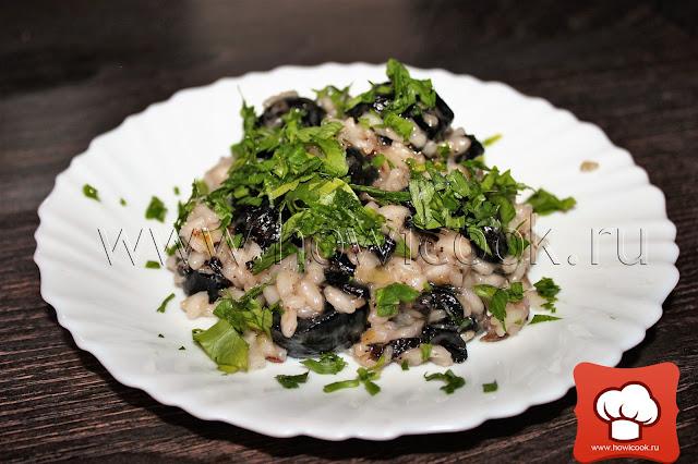 рецепт ризотто с грибами по рецепту джейми оливера