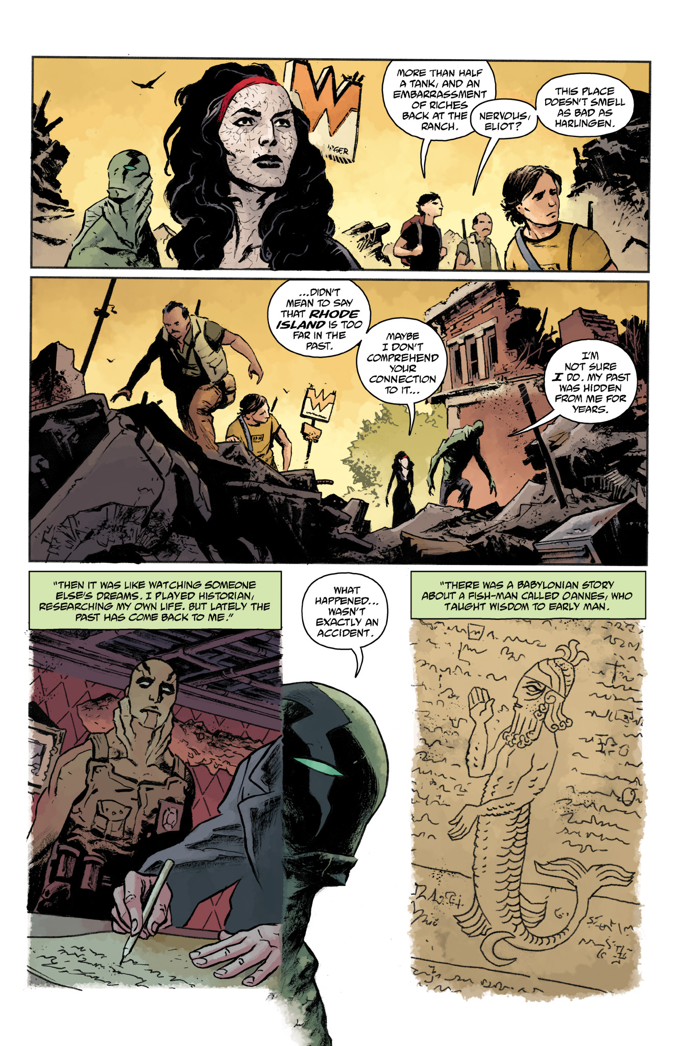 Read online Abe Sapien comic -  Issue #19 - 15