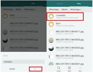 Cara Menghentikan WhatsApp Menyimpan otomatis Gambar ke Galeri / Rol Kamera