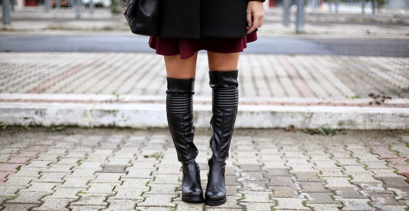 Cult over the knee boots | Don't Call Me Fashion Blogger! Roma