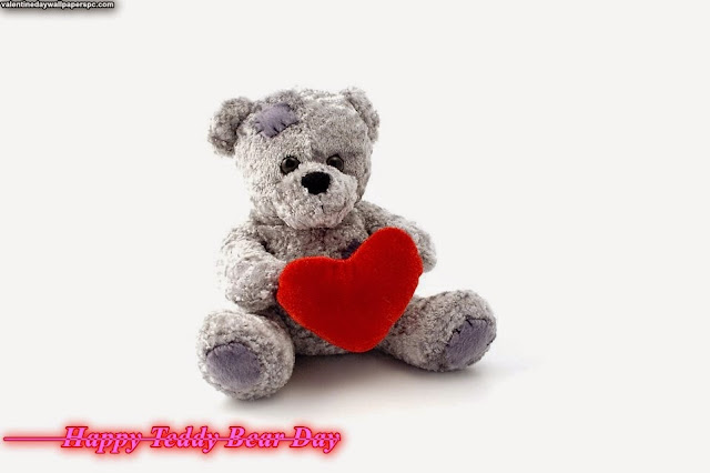 Happy Teddy Bear Day HD Wallpaper