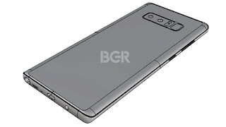 check how Samsung Galaxy Note 8 will look like