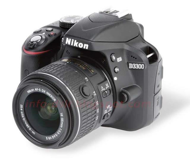Spesifikasi dan Harga Terbaru Nikon D3300 2017