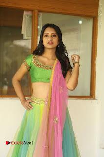 Actress Nikitha Bisht Stills in Lehenga Choli at Pochampally Ikat Art Mela Launch  0021.JPG