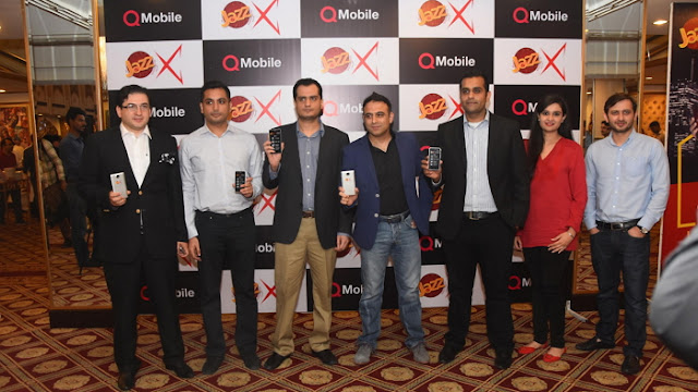 #Mobilink with QMobile to Launch Two Jazz X 3G Smartphones >>