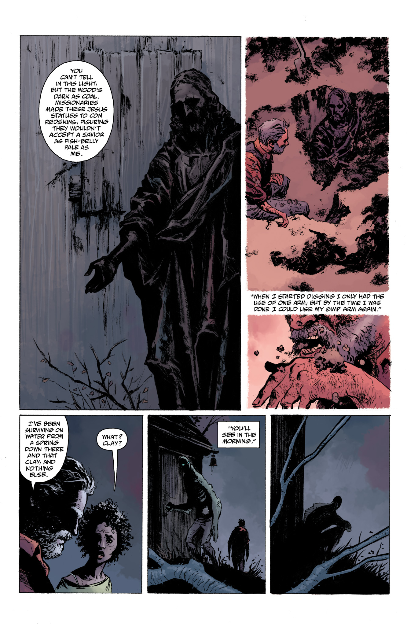 Read online Abe Sapien comic -  Issue #13 - 16