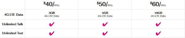 T-Mobile prepaid phones and plans 2016