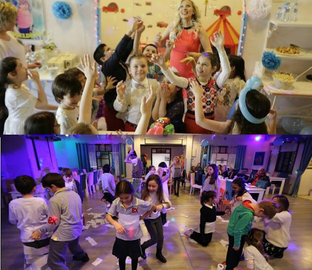doğum günü için çocuklara parti düzenlemek