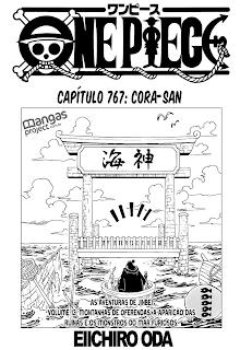 One Piece 767 Mangá - Português