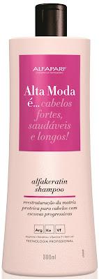 Shampoo - Alfaparf - Linha Alfakeratin