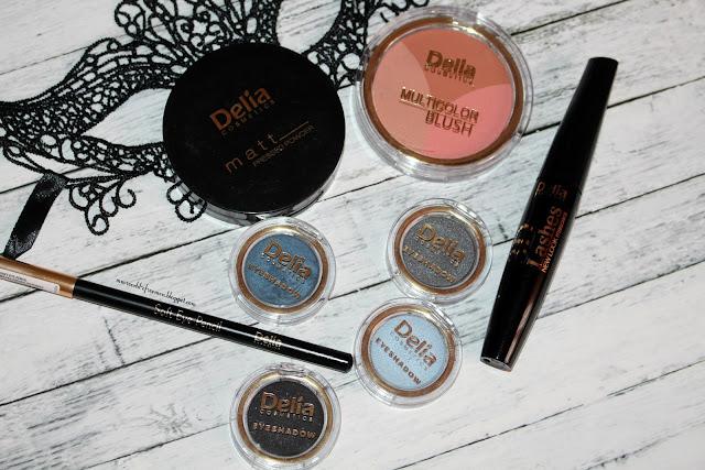 Karnawałowe nowości makijażowe od Delia Cosmetics