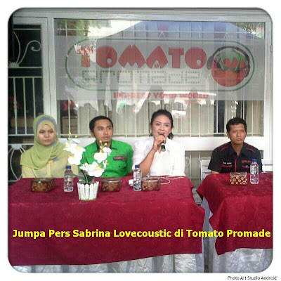 Tomato Promade Hadirkan Sabrina ke Medan
