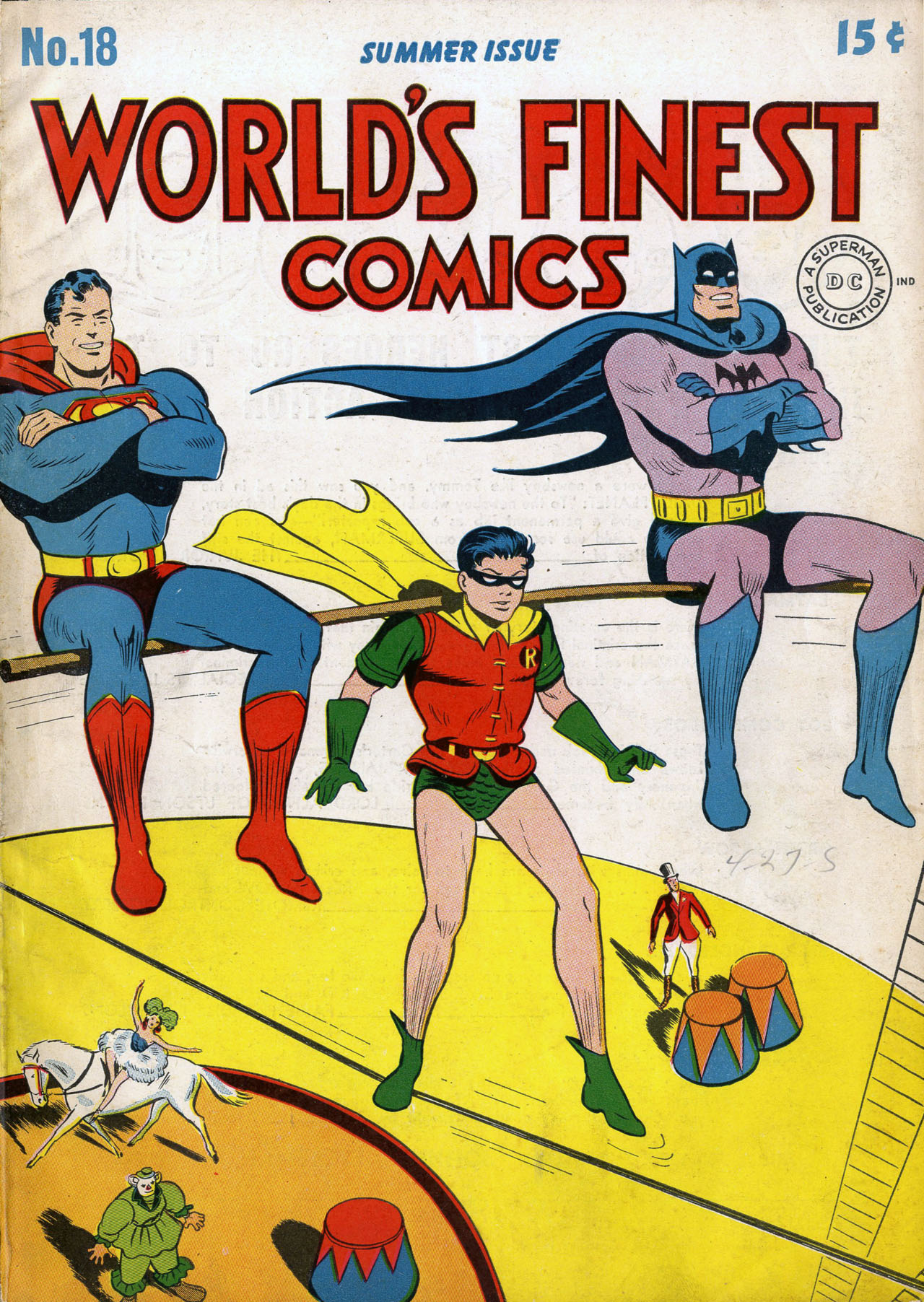 Read online World's Finest Comics comic -  Issue #18 - 1