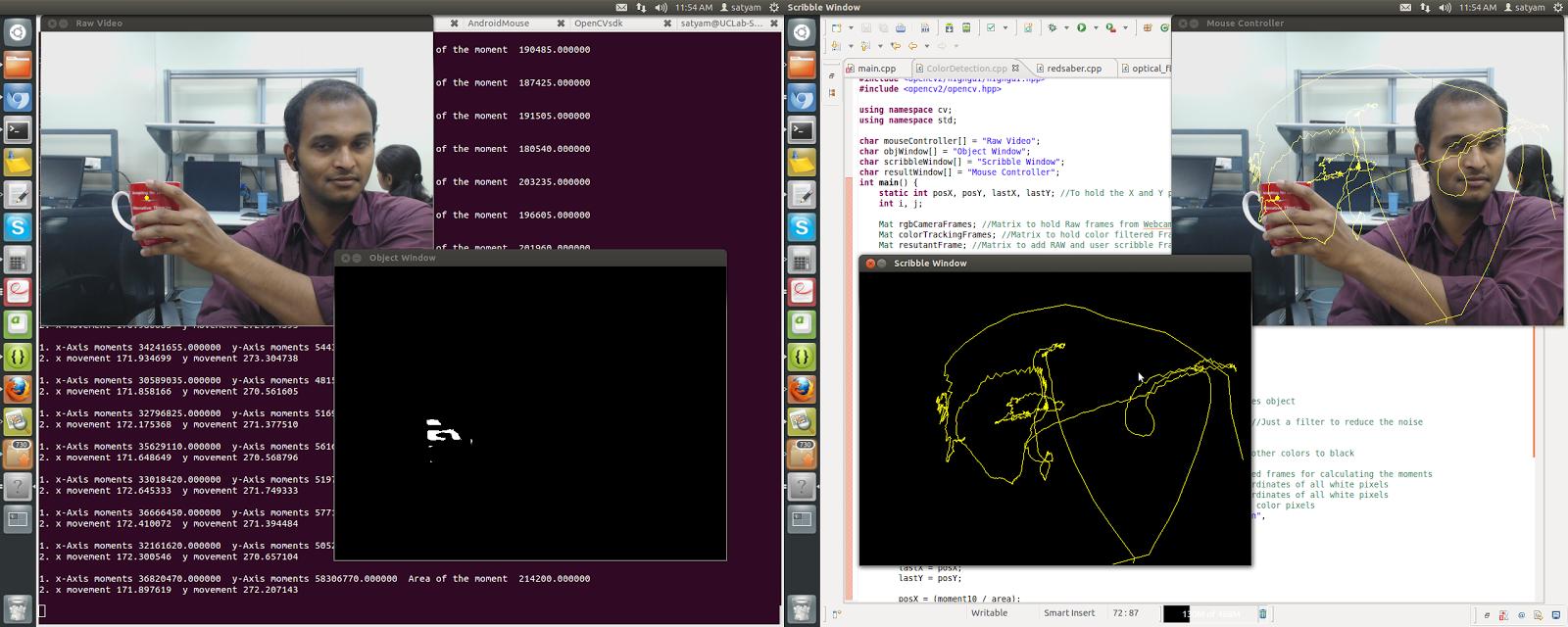Color Object Tracking C++ code Using OpenCV in Ubuntu   i-Vizon