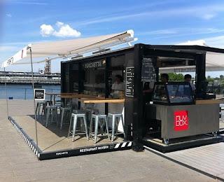 10 Desain cafe mini outdoor pinggir jalan sederhana dan unik