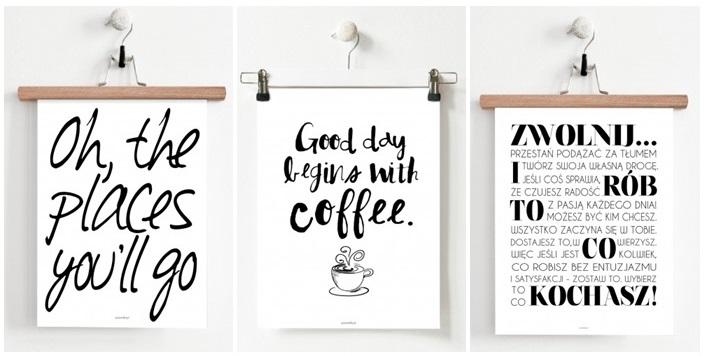 plakaty z napisami, plakaty z grafiką, plakaty motywacyjne,