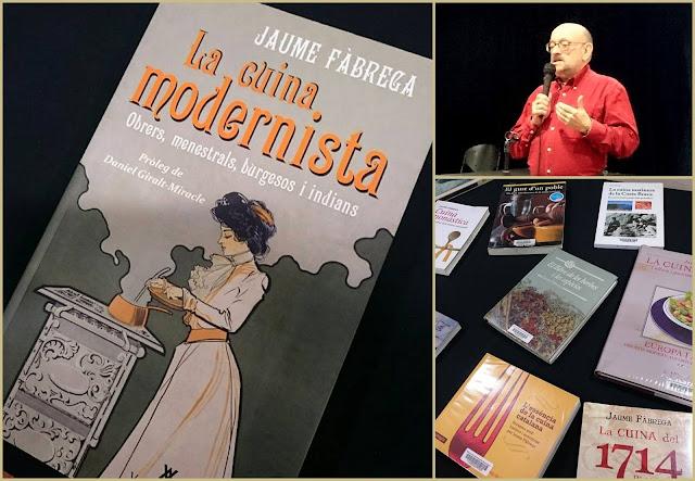 Tastet literari: La Cuina Modernista de Jaume Fàbrega