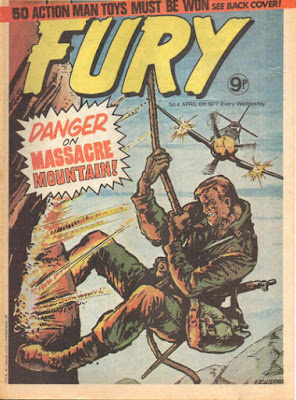 Marvel UK, Fury #4