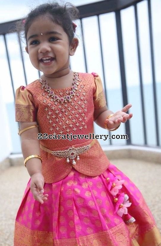 Allu Arjun Daughter Arha Diamond Jewelry