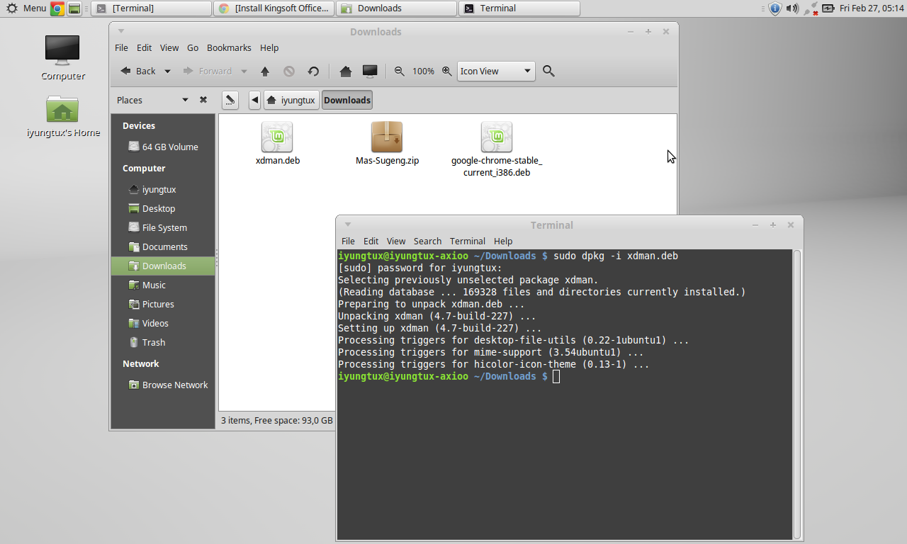 Cara Install Xtreme Download Manager di Linux Mint