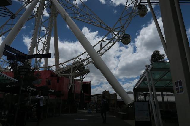 harbour town, melbourne, australia, ferris wheel