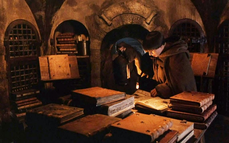the symbolism of labyrinthine library in the movie the name of the rose The labyrinthine library of babel for curious minds history & geography a visual guide to cemetery symbolism the literal translation of every country's name.