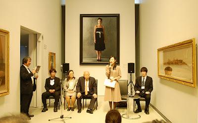 アートアジェンダ 美術館 展覧会レポート 第2回ホキ美術館大賞 受賞式 ホキ美術館にて