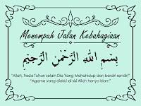 Cerita imajiner islam berjudul Menempuh Jalan Kebahagiaan