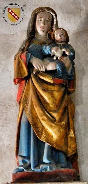 REMOVILLE (88) - Eglise Notre-Dame - Vierge à l'Enfant