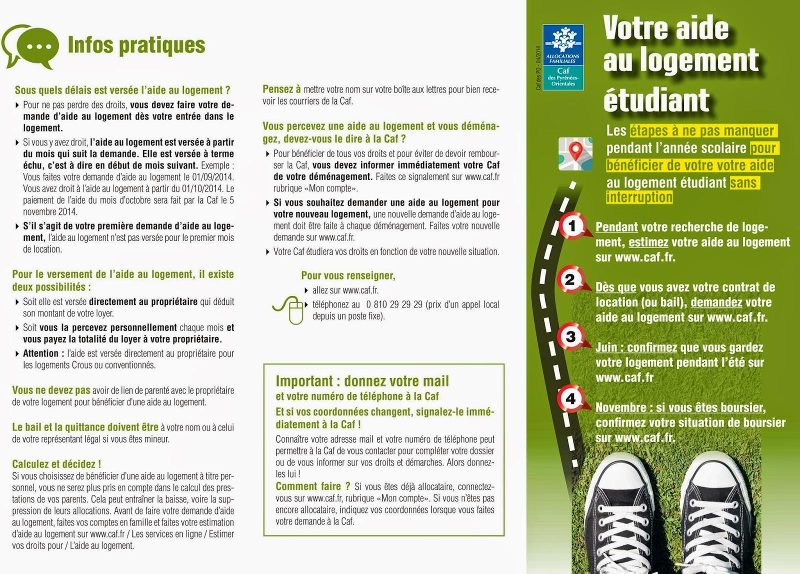 Bureau Information Jeunesse 66 L Aide Au Logement Etudiant