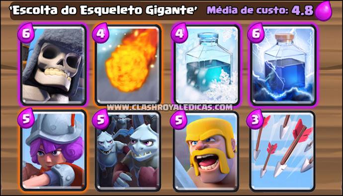 Dicas de decks para Clash Royale