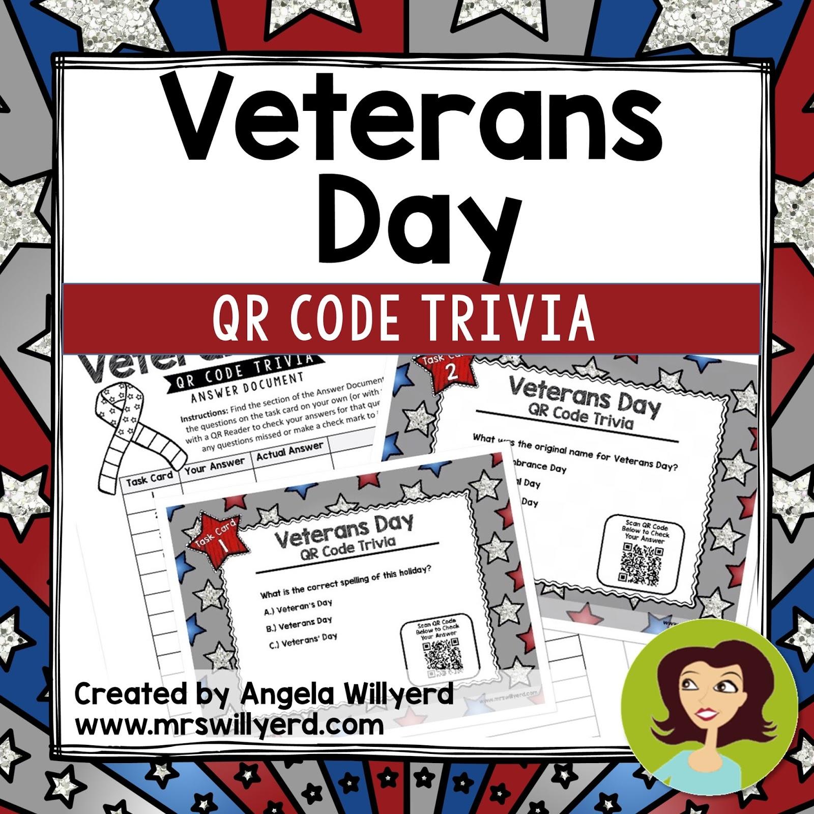 Mrs Willyerd S Virtual Classroom Veterans Day Class
