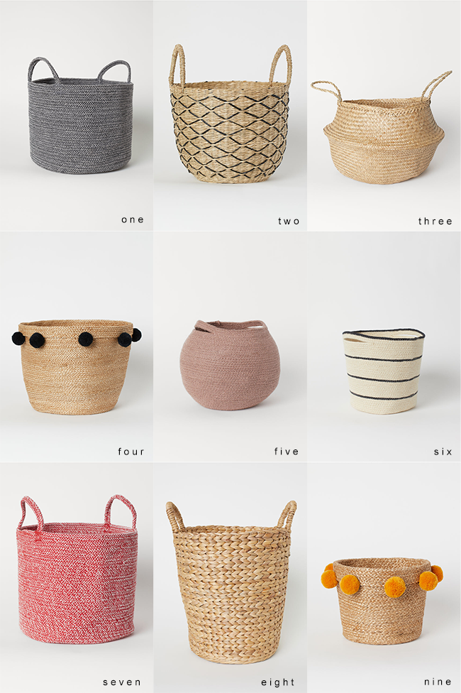 9 Beautiful (and Practical) Baskets