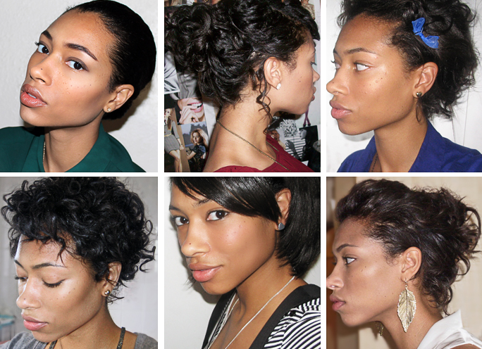 Styling Short Relaxed Hair