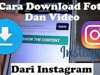 Cara Mendownload Video di Instagram Via HP / Smartphone