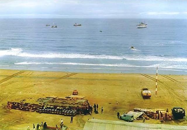 Playa de embarque de Sidi Ifni (Foto de Internet)