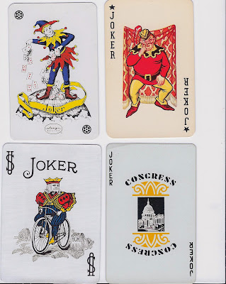 Playing Card Jokers Most Popular