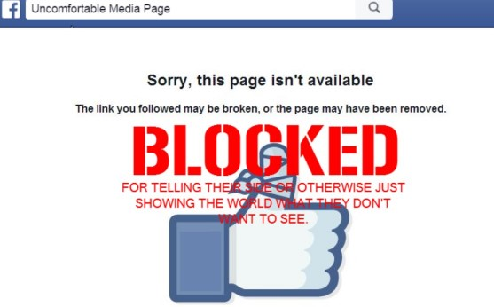 what happens when you are blocked on facebook