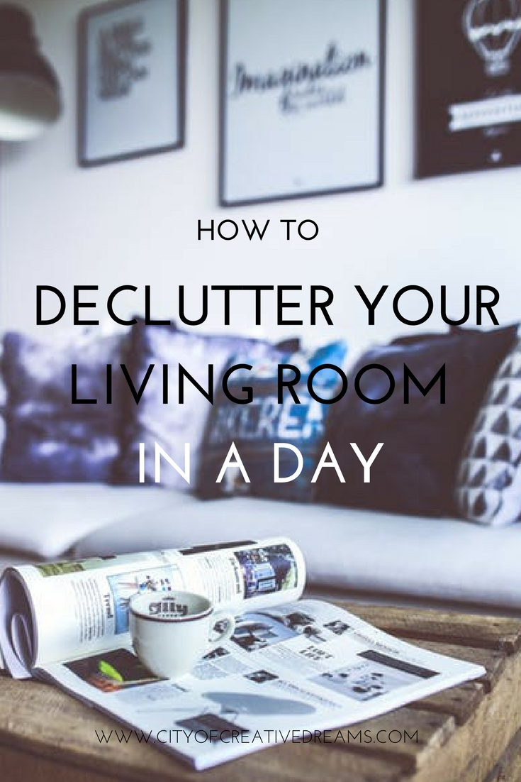 Declutter Your Living Room In A Day! I Recently Talked About Decluttering  Your Kitchen And I Thought Well If You Can Do That, You Can For Sure Concur  ...